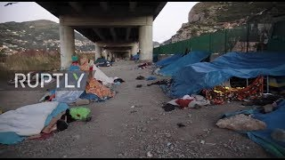 Italy: Migrants forced to leave camp near Ventimiglia