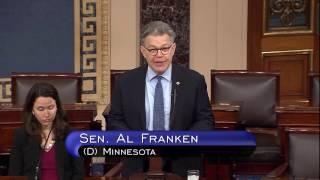 """Show Me The Plan""-Franken Fights Back Against Obamacare Repeal"