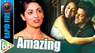 Yami Gautam's AMAZING Rapid Fire On Hrithik Roshan | Kaabil
