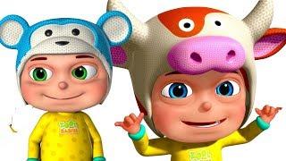 Five little Babies Wearing Funny Caps | Mashup | Zool Babies Fun Videos