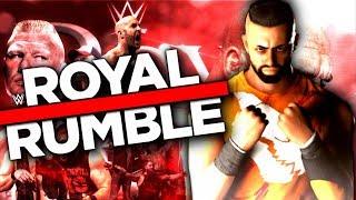 INTIKAM IÇIN ! ÜMIDI MEN ROYAL RUMBLEDA ! WWE2K18 ! #13