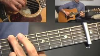 Oceans Guitar Tutorial   (Where Feet May Fail)   Acoustic   Hillsong United (Zion)