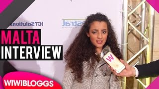 Christina Magrin (Malta) @ Junior Eurovision 2016 Opening Ceremony - INTERVIEW   wiwibloggs