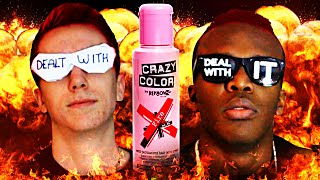 FIFA 15 | RED HAIR DYE WAGER!!!