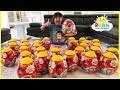 Download Video Download Giant Easter Egg Hunt Surprise Toys for kids Pretend Play with Ryan!!! 3GP MP4 FLV
