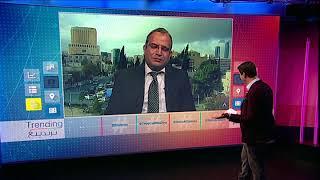 بي_بي_سي_ترندينغ: المذيع الأردني الذي قرأ عنوانا إلكترونيا بالمقلوب يتحدث لبي بي سي #رجعوا_العجلوني