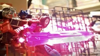 Transformers StopMotion Attack On Giant