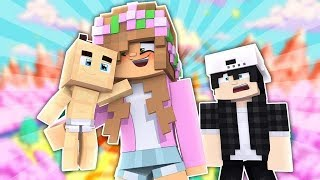 LITTLE KELLY AND RAVEN ARE HAVING A BABY?! Minecraft