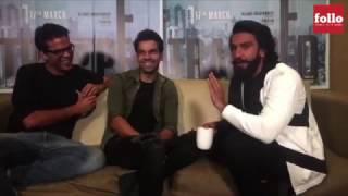 Look How Ranveer Singh Reacted After Watching Rajkummar Rao's Trapped! Uncut