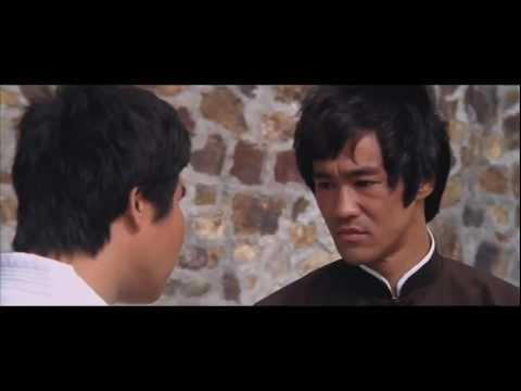 Bruce Lee -'The Stare' { Enter The Dragon (no unifrom scene) }