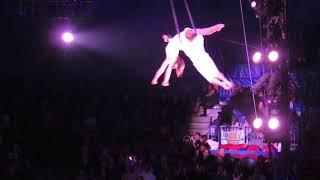 Aerial Straps: Big Apple Circus, NYC