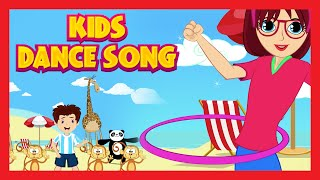 Kids Dance Song - Rhymes | Fun For Kids With Zoo Animals, Hula Hoop and Dracula