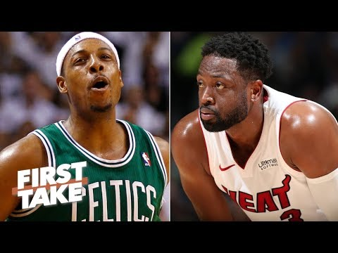 Dwyane Wade obviously had a better career than Paul Pierce Stephen A. First Take