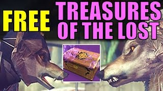 Destiny: FREE Treasures of the Lost | Masker Plan Quest Guide | Festival of the Lost 2016