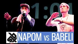 NAPOM vs BABELI  |  Shootout Beatbox Battle 2017  |  1/4 FINAL