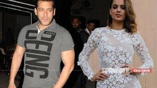 Salman Khan & Kangana Ranaut Kiss And Make Up | Bollywood News