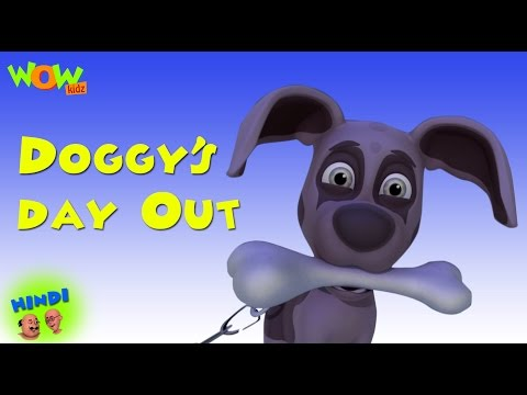 Doggy days Out - Motu Patlu in Hindi - 3D Animation Cartoon for Kids -As seen on Nickelodeon