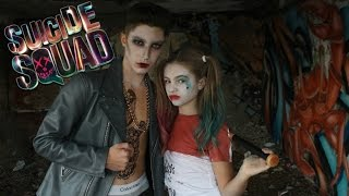HARLEY QUINN & JOKER : MAKEUP AND LOOK - Suicide Squad