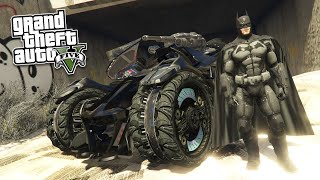 GTA 5 PC Mods - Ultimate Batman Mod (Batmobiles, Gliding, and the Batcave!)