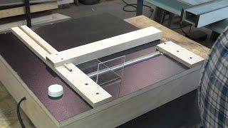 Building a Acrylic Bending Table