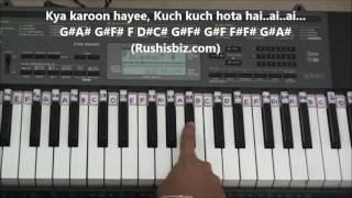 Kuch Kuch Hota Hai (Piano Tutorials) - Tum Paas Aaye
