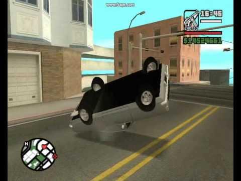 GTA San Andreas acidentes Incriveis