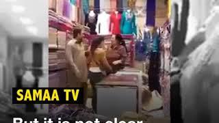 Pakistani men beaten by Chinese woman in Pakistan