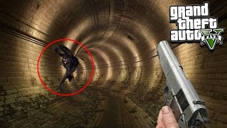 GTA 5 Scary Creature Found!!! GTA 5 At 3:00 AM (GTA 5 Gameplay)