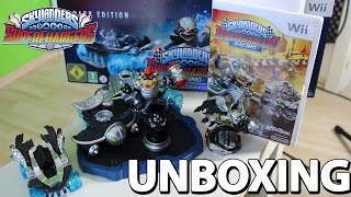 Skylanders SuperChargers Dark Edition Wii Unboxing - Bowser | Clown Cruiser | Kaos Trophy [HD]