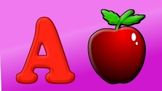 phonics song   Alphabet songs for children   A for Apple   abcd song