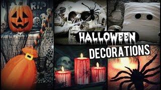 DIY Halloween Decorations! | How To Spooky Halloween Room Decor