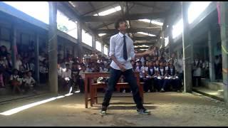 rajat debnath on teachers day in govt. hir. sec school naharlagun arunachal