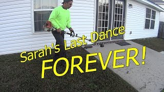 Pt 5 Sarah, The HOA Violator's Last Dance - FOREVER - Realtime Grass Cutting Video