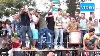 شارع جامعة الدول يتحول الي مولد سيدي العريان في العيد