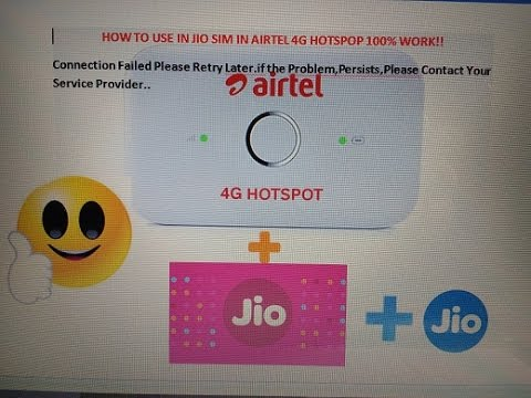 Xxx Mp4 How To Adding Reliance Jio Or Any APN On Unlocked Airtel 4G Hotspot Huawei And Working On It 100 3gp Sex