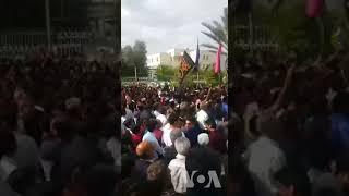 تجمع شهروندان کازرون در اعتراض به تجزیه شهر