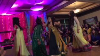 Anum & Mutaaf's Mehndi Dance- Girls Dance