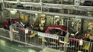 The Factory Life  A Behind the scenes at Nissan production in Japan