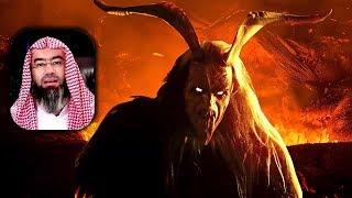 مخيف جدا الشياطين تهاجم النبي محمد لتحرقه - فماذا فعل معهم سبحان الله