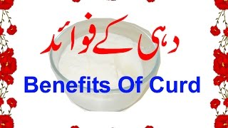 Dahi Ke Fawaid - Benefits Of Curd - Yogurt Health Benefits