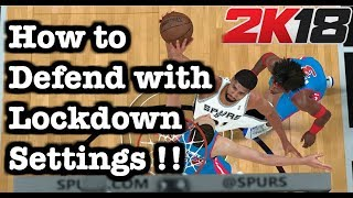 All NBA 2K18 Defensive Settings Explained: Best 2K18 How to defend Tutorial. 2K18 Defense Tips