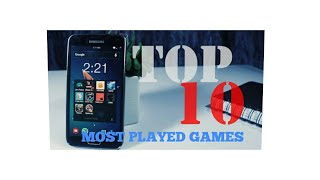 MOST PLAYED GAMES ON PLAYSTORE IN 2017