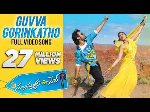 Xxx Mp4 Guvva Gorinkatho Video Song Subramanyam For Sale Video Songs Sai Dharam Tej Regina Cassandra 3gp Sex
