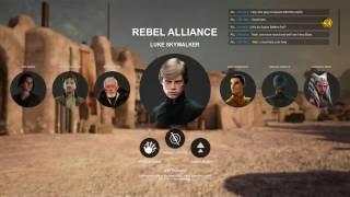Star Wars Battlefront 2 EA Hero Concepts - Original Trilogy, Rogue One, Clone Wars, Rebels