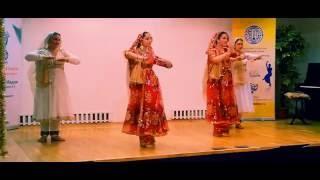 Kathak Tarana Tori by Svetlana Tulasi & Chakkar group