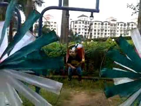 Janak Mahesh Daka , Hangiing in the Dream park in the age of 1 year 5 month old , 14-08-2011 , time: 17:50 , Video from Mahesh Premaji Daka , My Phone JAY SHREE KRISHNA.