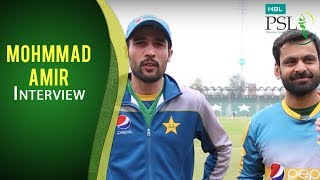 Amir recall their HBL PSL 2017 encounter