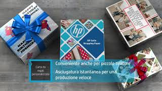 Introducing HP Satin Wrapping Paper (Italian)