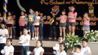 Ervon's Song Presentation during Recognition Day