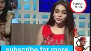 Pakistani actor Humaima malick talking about india and her experience in india- pak media